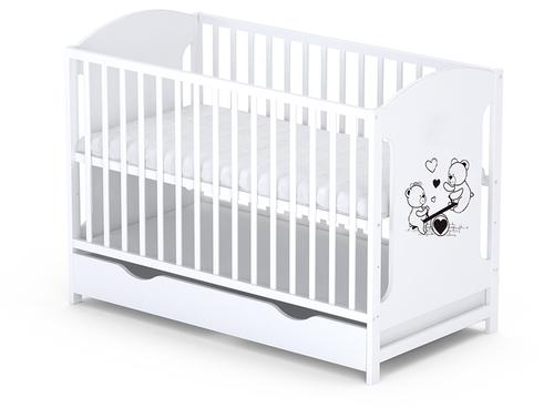 MIKI dječji krevetić 60x120 cm